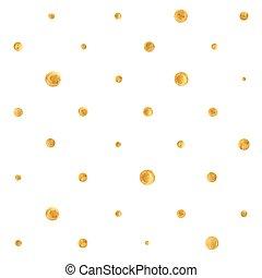 flecke, goldener hintergrund
