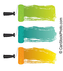 flecke, rolle, farbe