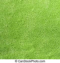fleece, quadrado, sábio, micro, experiência verde, macio