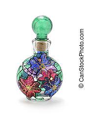 fles, parfum