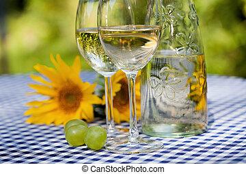 fles van wijn