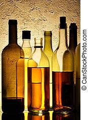 flessen, alcohol