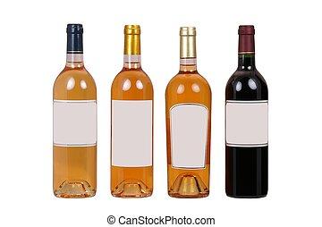 flessen, wijntje