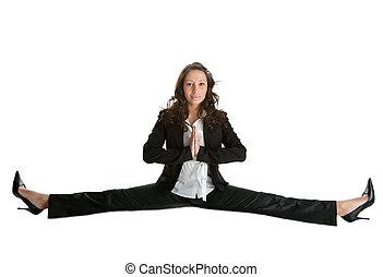 flessibile, concetto, affari