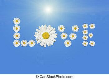 fleur, amour