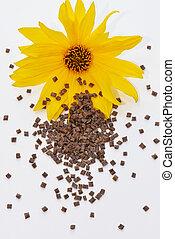fleur, biopolymer
