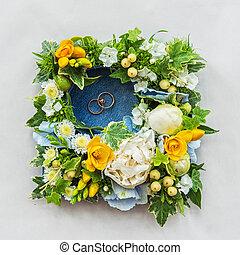 fleur, composition, mariage