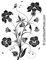fleur, conception