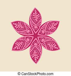 fleur, décoratif, mignon