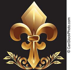fleur de lis, nowy orleans, symbol