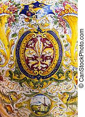 Fleur de Lis of Florence painting - A florence fleur-de-lis...