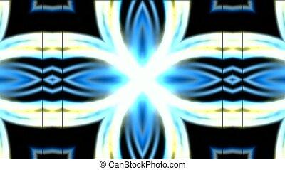 fleur, fantaisie, éclat, électricité