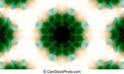fleur, fantaisie, vert, religion