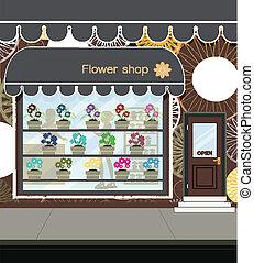 fleur, shop.