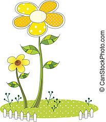 fleur, vue