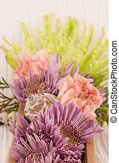 fleurs, 2, masage