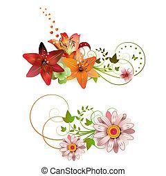 fleurs, arrangement
