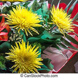 fleurs, bouquet