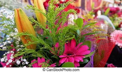 fleurs, composition