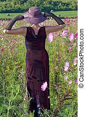 fleurs, feminity