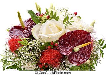 fleurs fraîches, tas