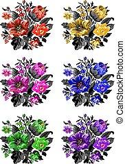 fleurs, image