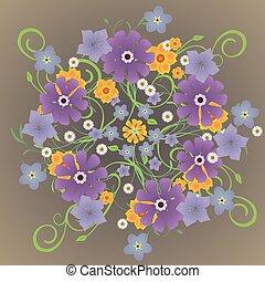 fleurs,  mandela