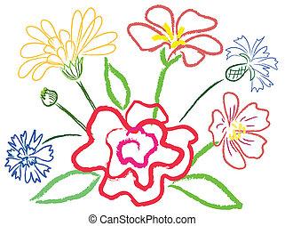 fleurs, nature morte