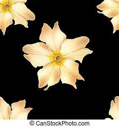 fleurs, or