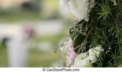 fleurs, plusieurs, arrangement