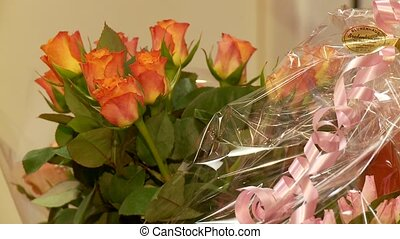 fleurs, roses