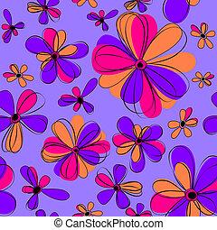 fleurs, seamless