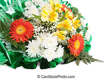 fleurs, tas