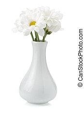 fleurs, vase