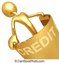 flexível, crédito