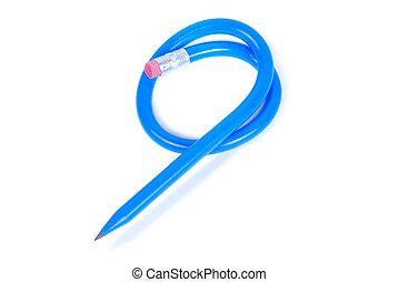 flexível, lápis