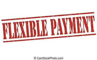 Flexible payment stamp