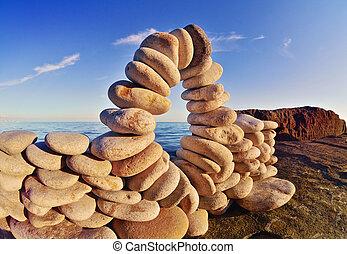 Flexure of stones