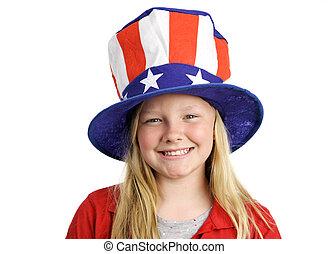 flicka, all amerikan