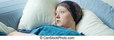 flicka, cancer