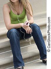 flicka, musik