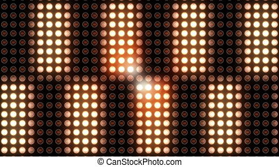 Flickering light at night club - Flickering disco light at...