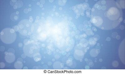 Flickering Particles