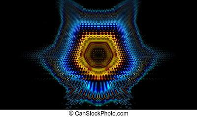 Flickering pattern