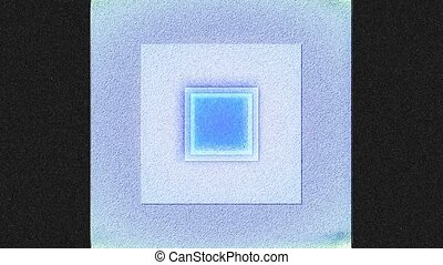 Flickering Square Tinted 12. - A computer generated...