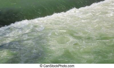 fließenden wasser, fluß