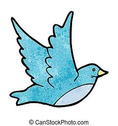 Vogel Karikatur