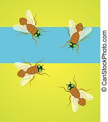 Flies Vector