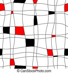 fliese, abstrakt, seamless