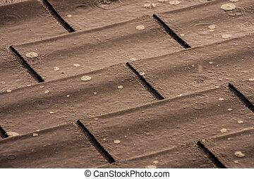 Fliesenmuster, Modern, Dach